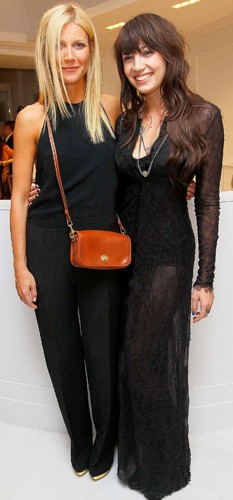 Gwyneth Paltrow and Daisy Lowe
