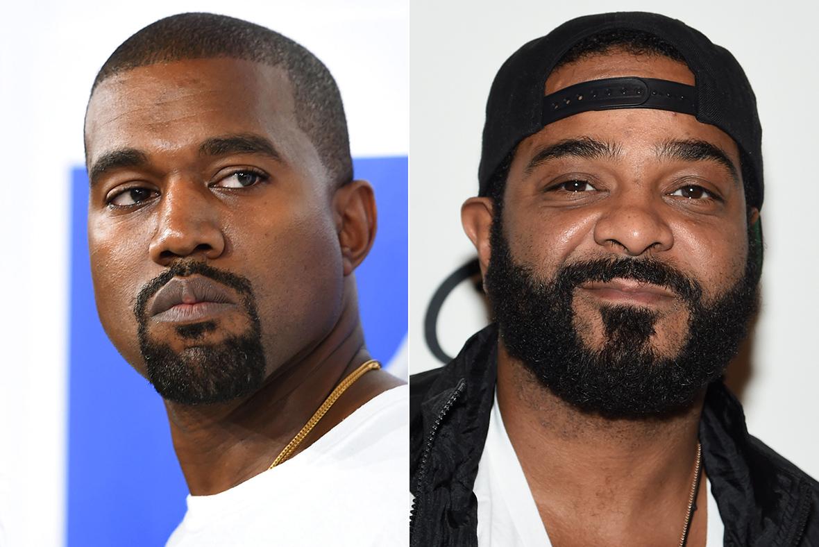 Kanye West, Jim Jones
