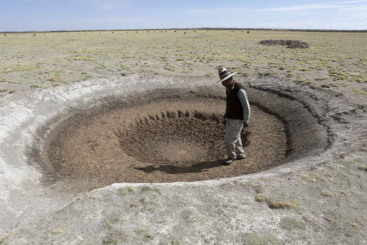 Bolivia drought water