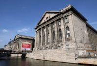 Berlin's Pergamon Museum on the capital's MuseumIsland