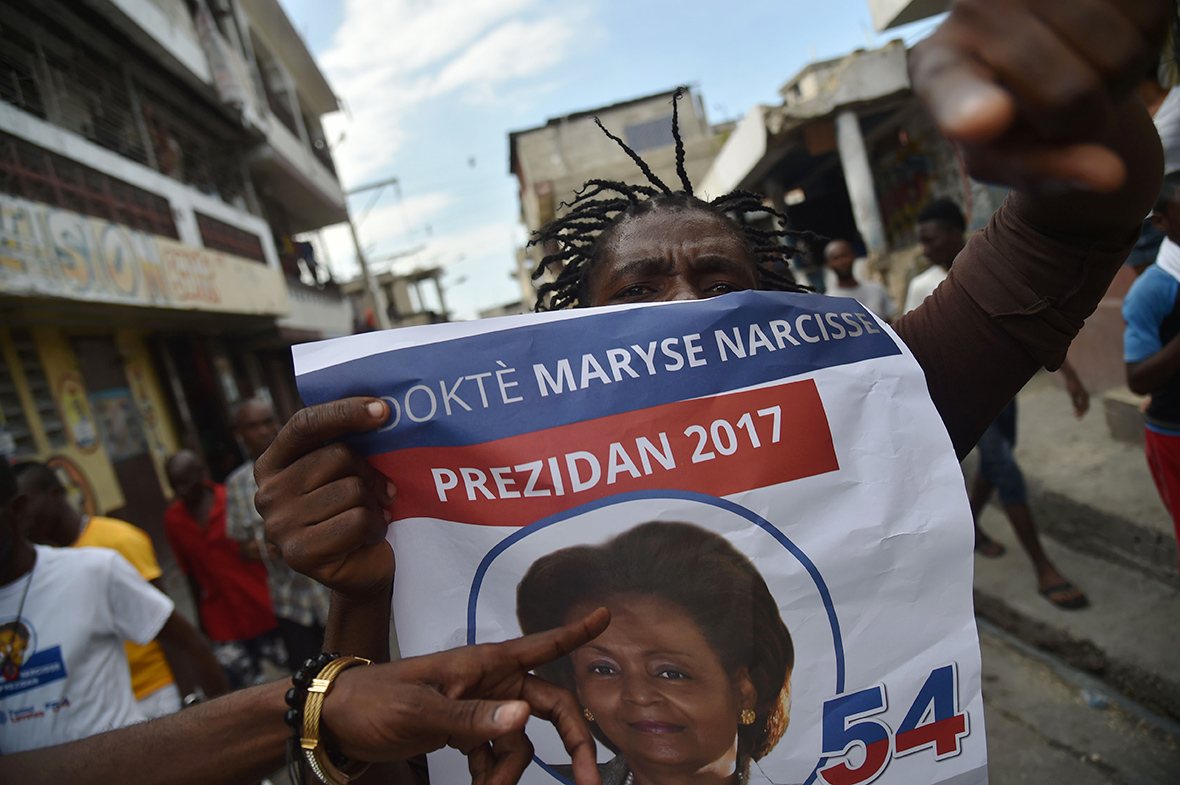Haiti election protests