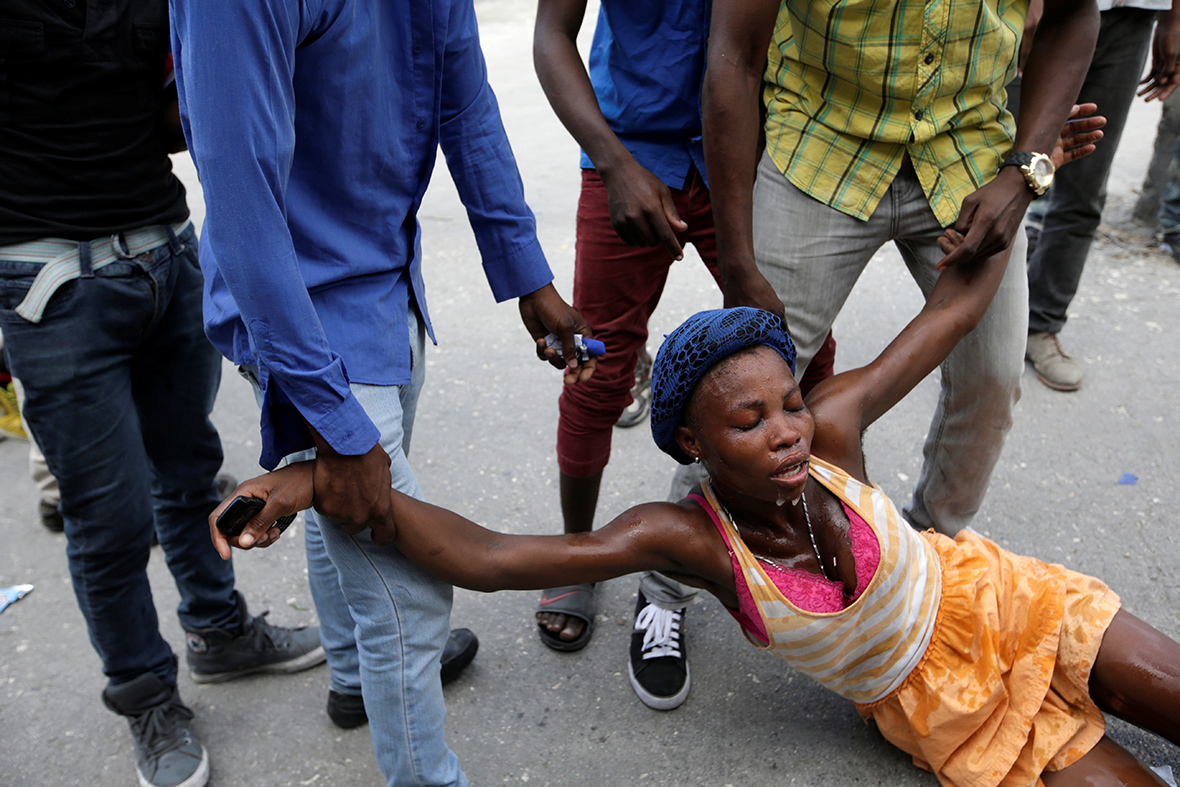 Haiti election protests