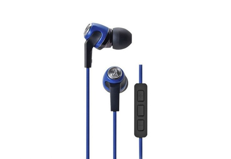 Audio Technica Sonic Fuel in-ear headphones (blue)