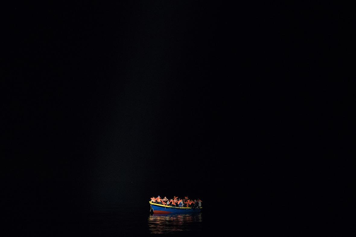 Migrants Mediterranean Libya Italy