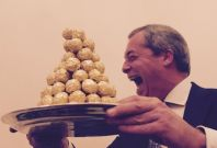 Nigel Farage, interim Ukip leader