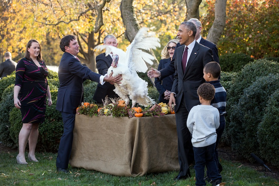 Obama, Thanksgiving