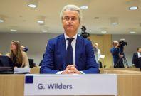 Geert Wilders in court