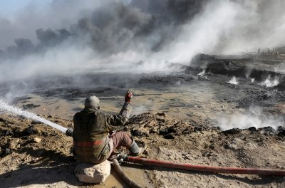 Mosul oil fields Isis
