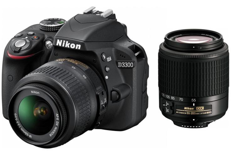 Nikon D3300 24.2MP DSLR Twins Lens Kit Camera