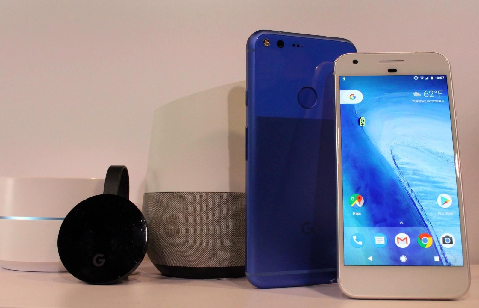 Google Pixel and Pixel XL software updates