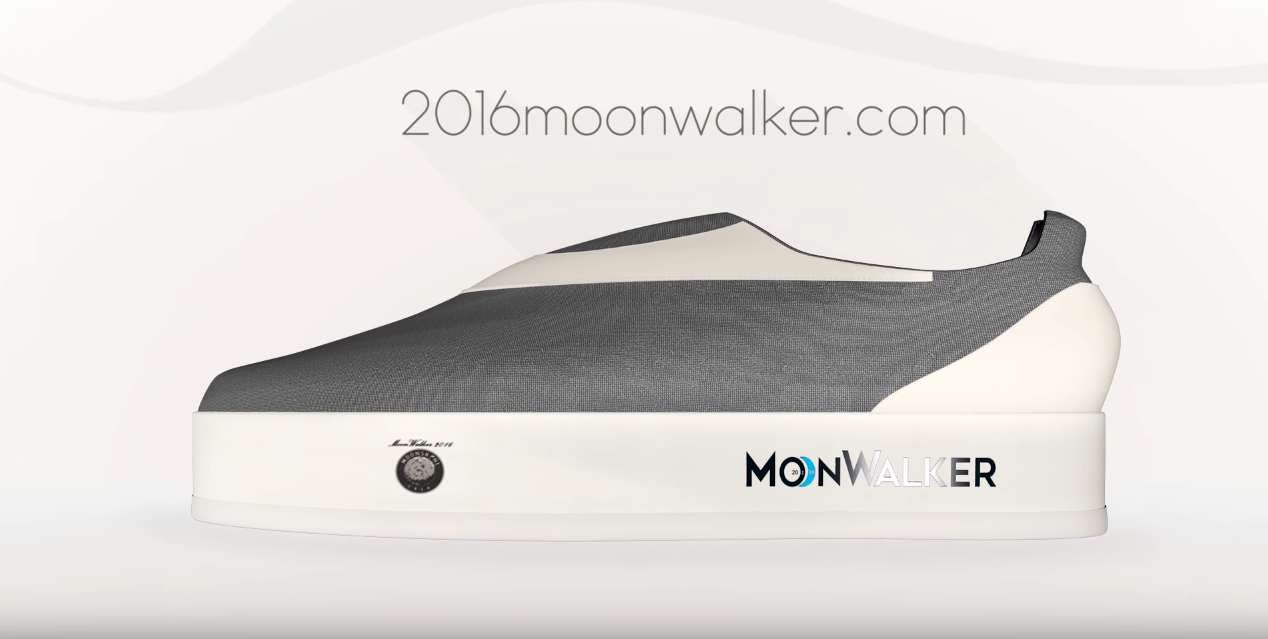 Moonwalker shoes Indiegogo
