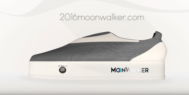 Moonwalker shoes Indiegogo
