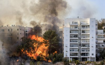 Israel fires