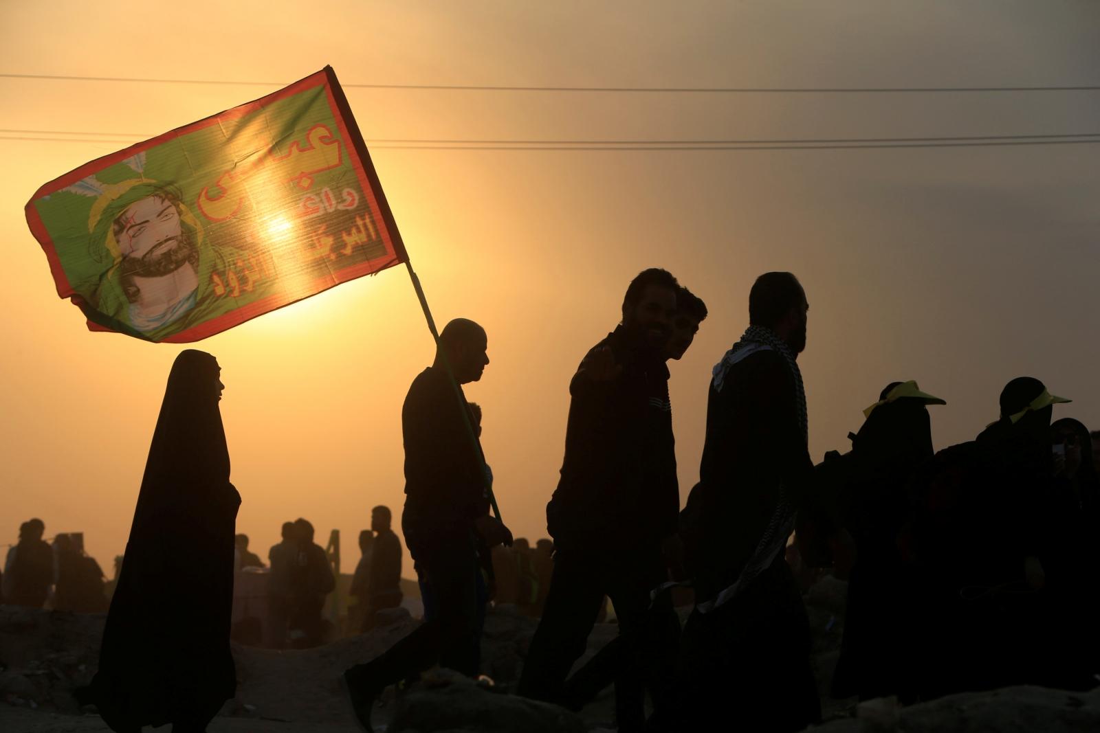 Shia Muslim pilgrims