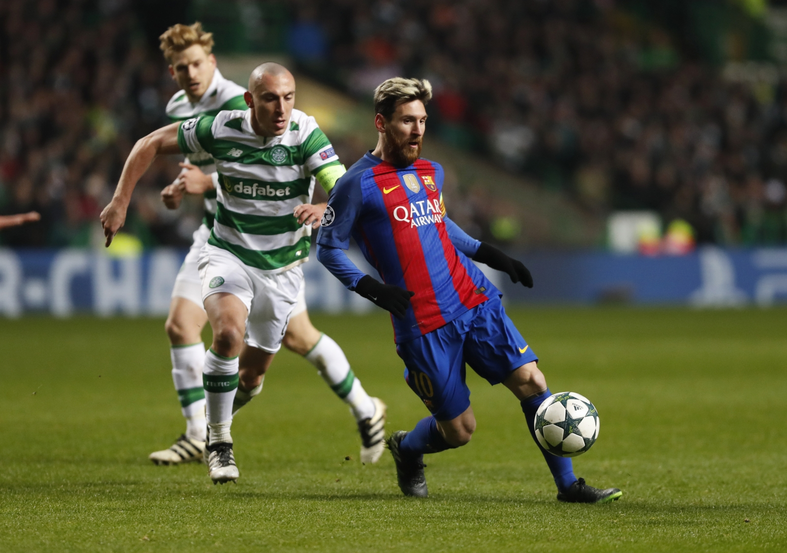 Scott Brown & Lionel Messi