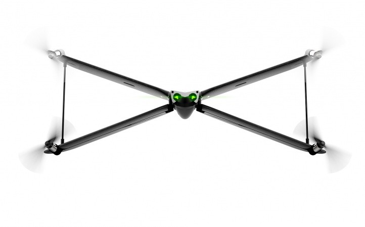 Parrot PF727003 Swing Drone with Flypad - Black
