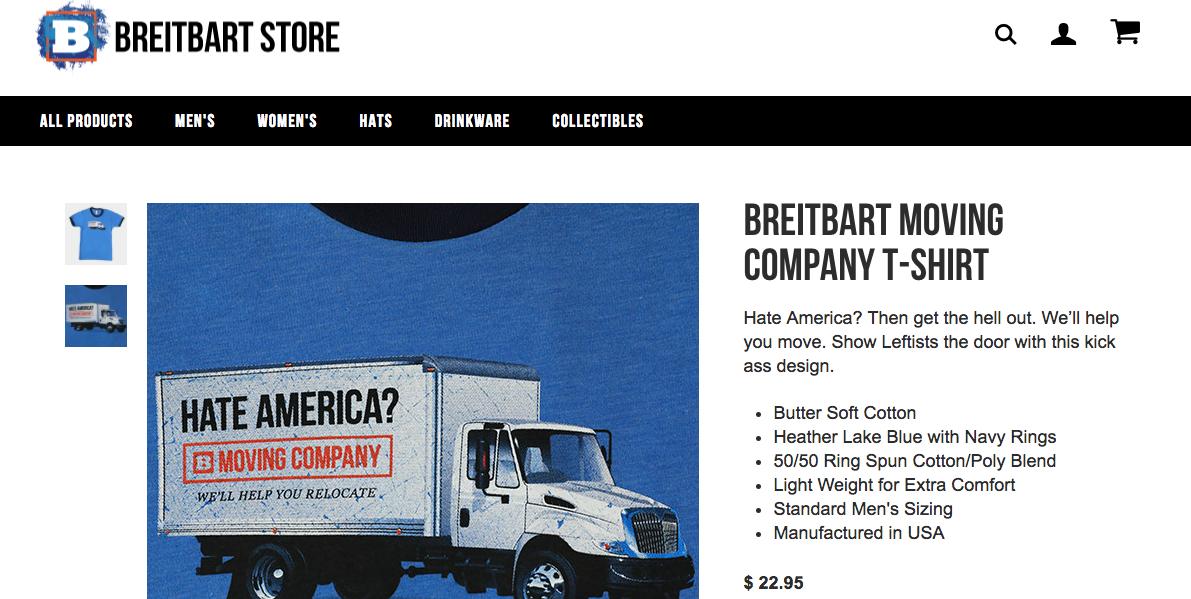 Breitbart Online Shop