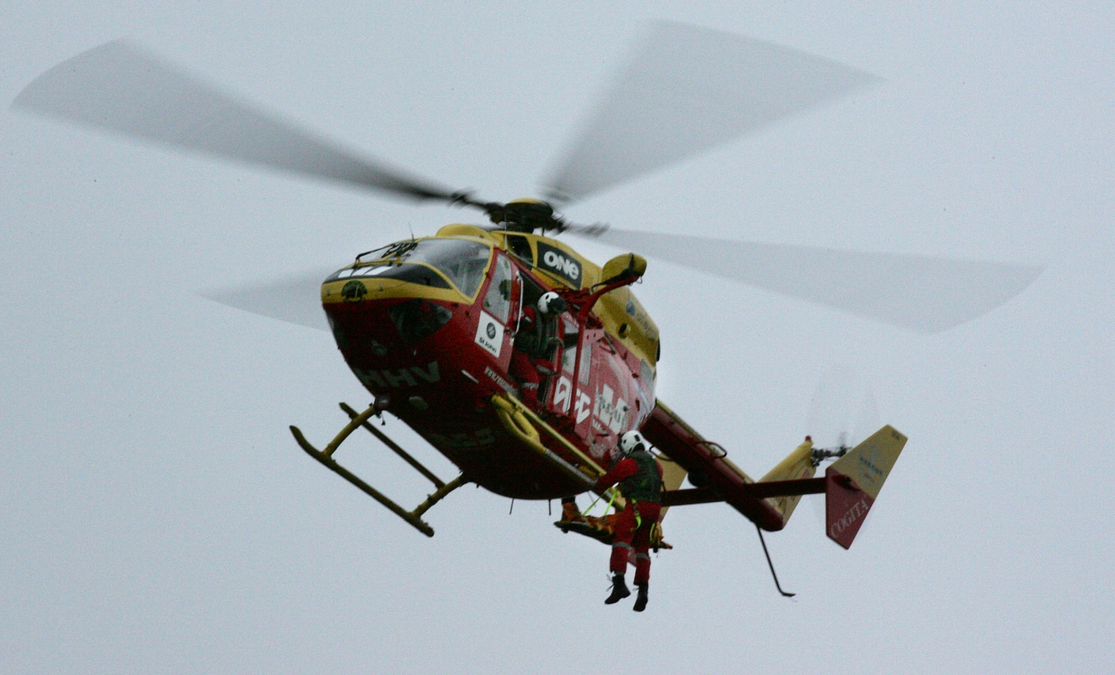 New Zealand rescue helicopter