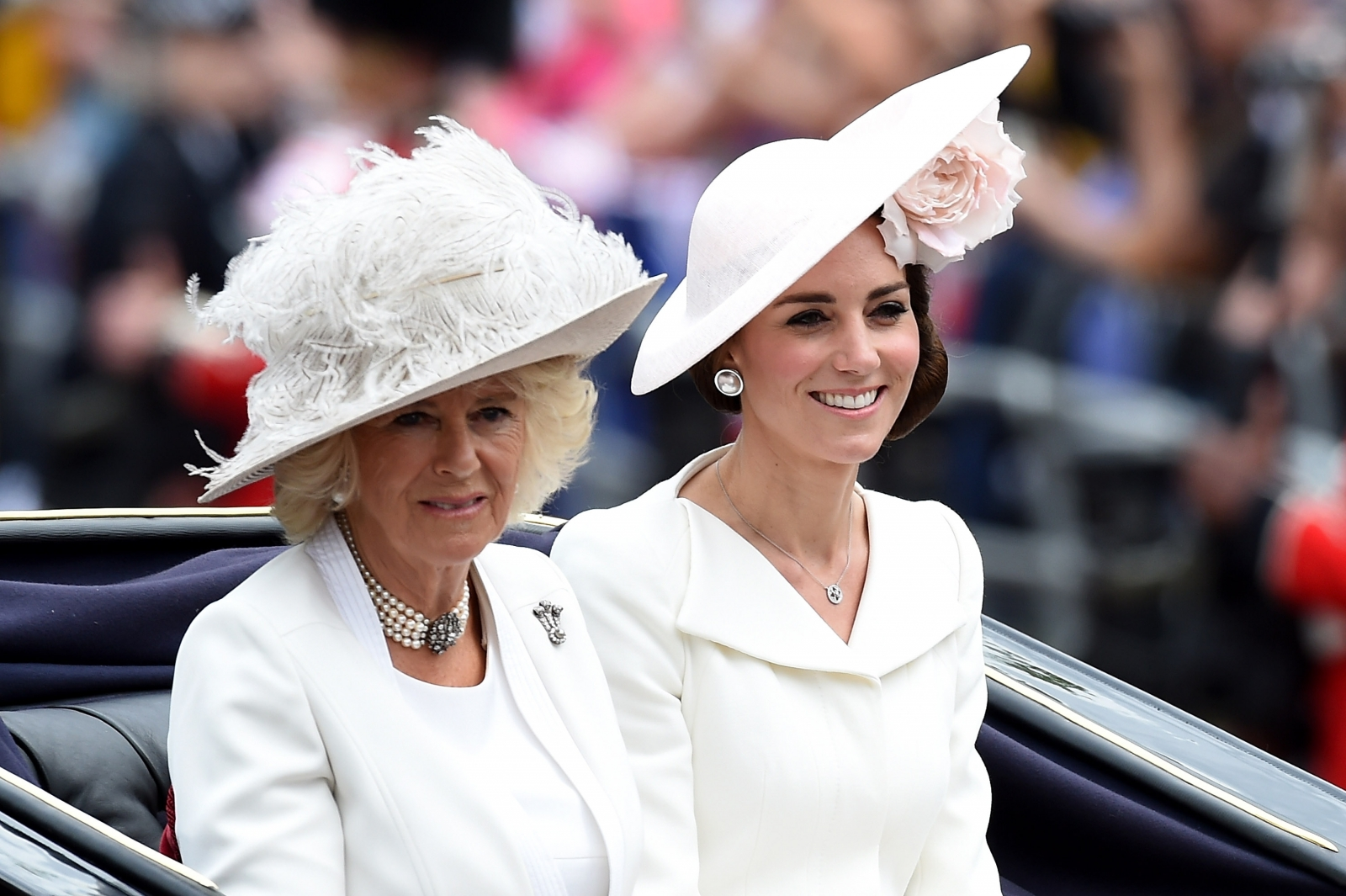 Kate Middleton and Camilla Parker Bowles