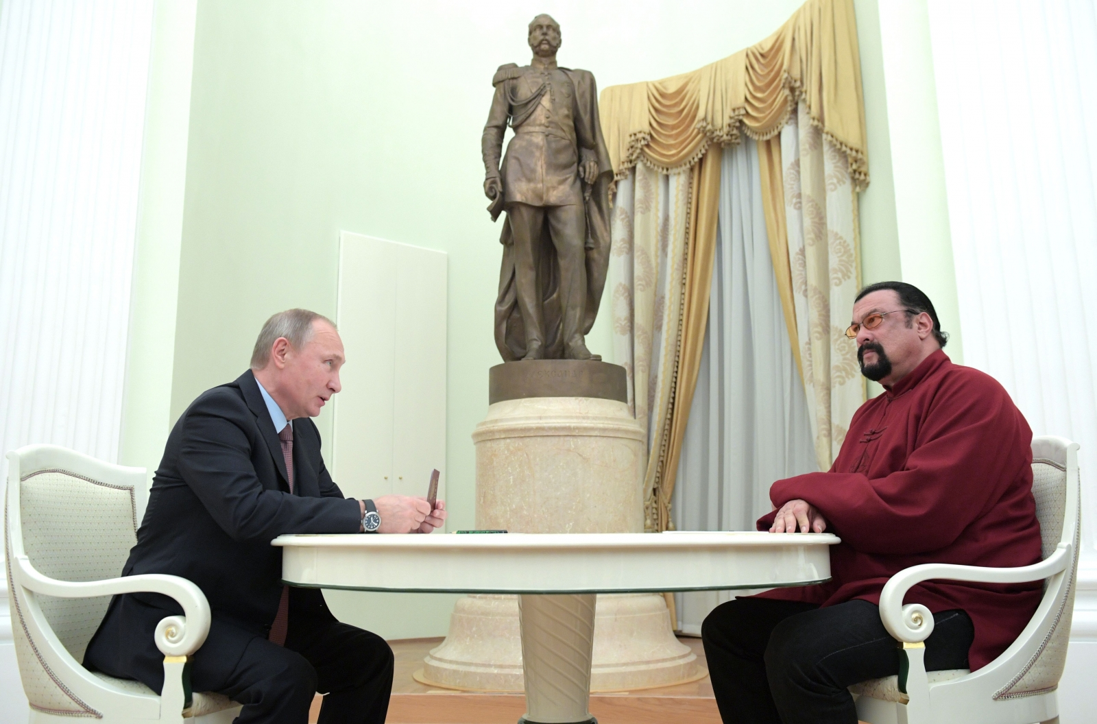Steven Seagal is a threat to national security in Ukraine