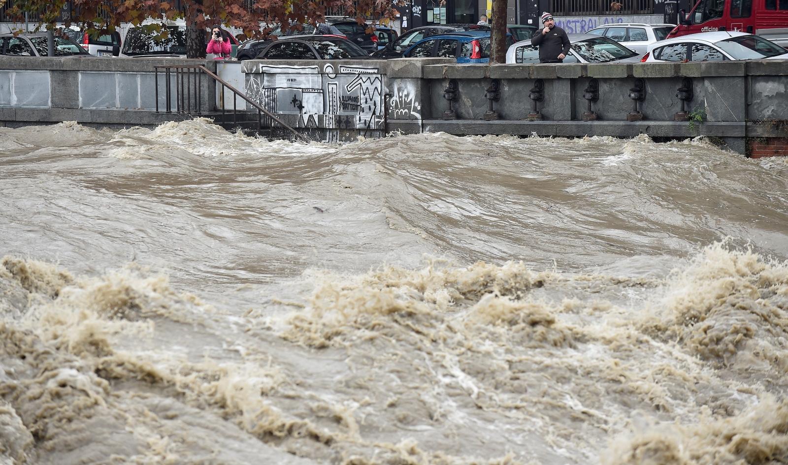 flood turin italy