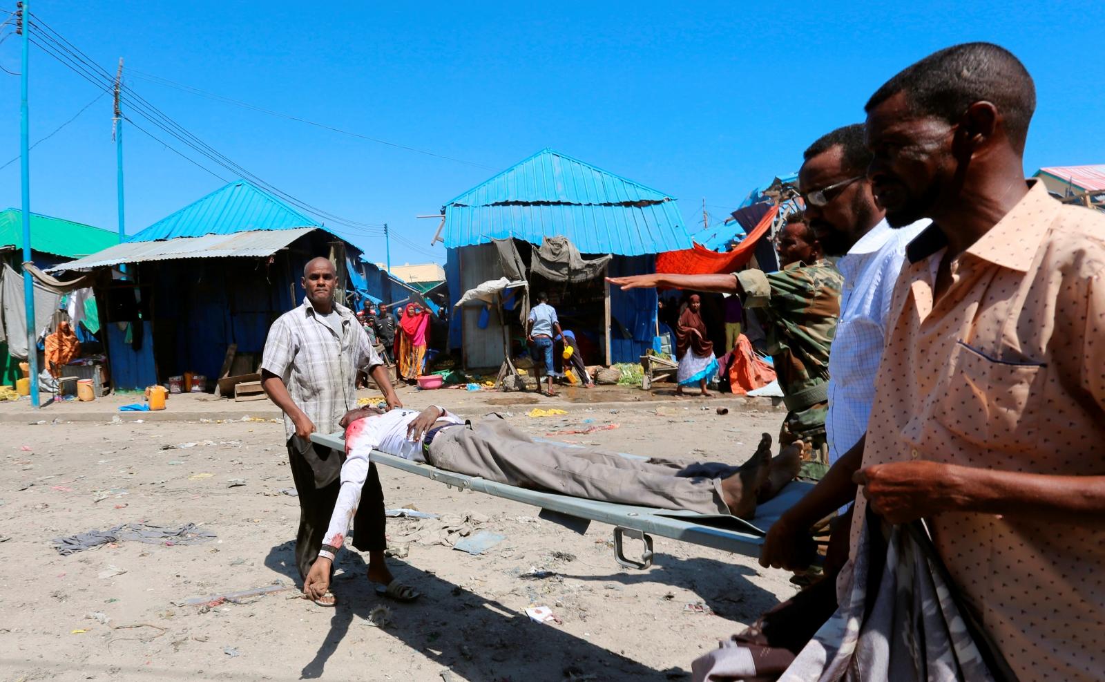 Car Bomb In Mogadishu Somalia Kills 20 With Dead Toll