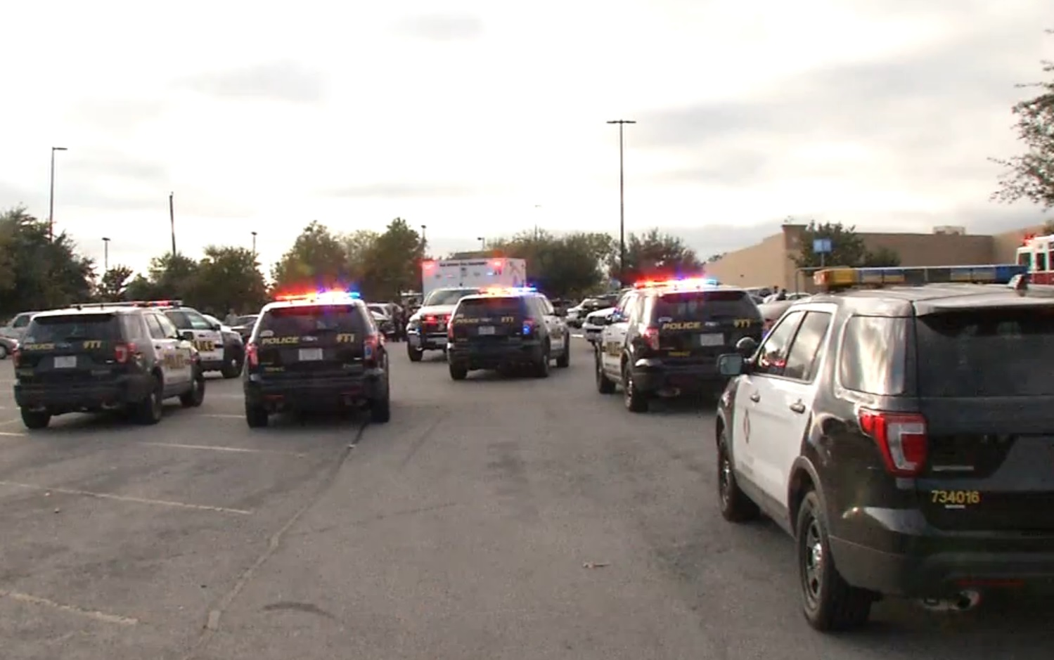 US Police cars