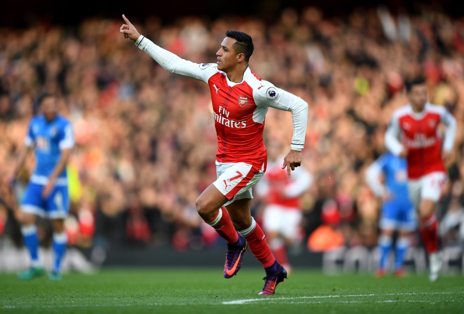 Arsenal 3-1 Bournemouth: Alexis Sanchez brace secures win ...