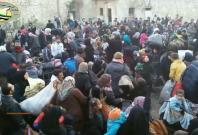 Thousands of civilians flee rebel-held Aleppo amid devastating bombing