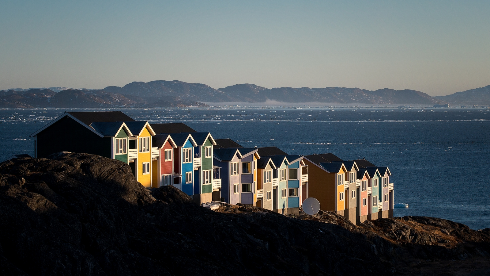 Greenland houses