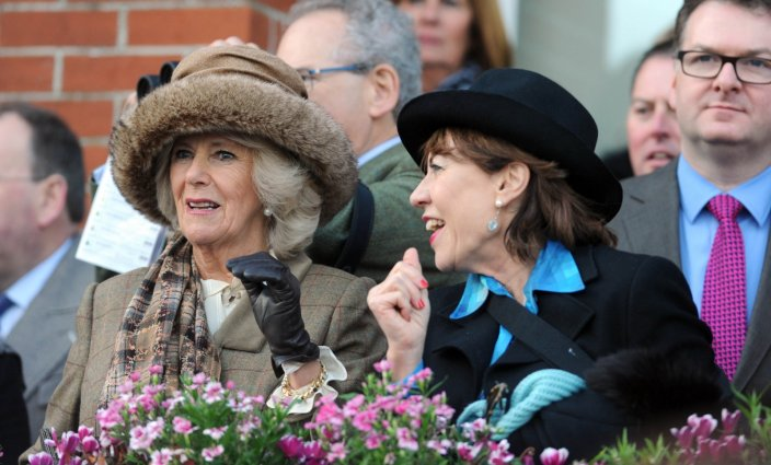 Camilla at Newbury