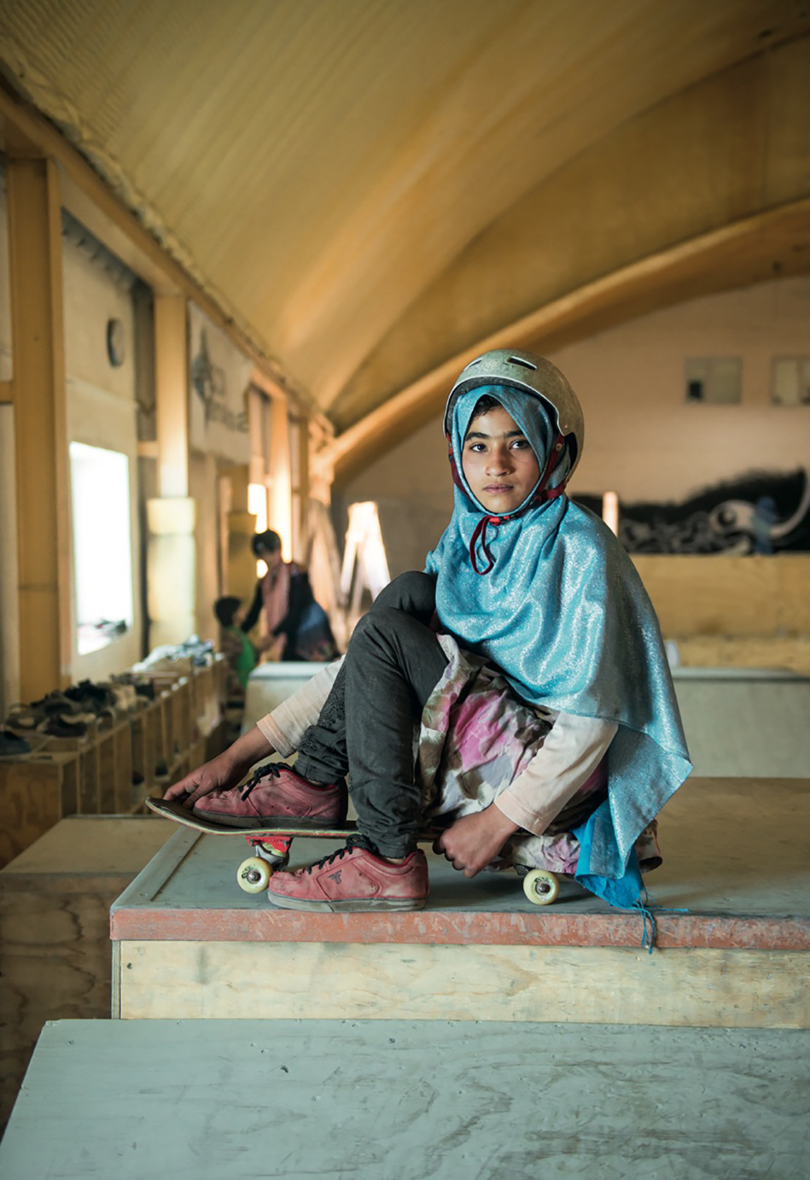 The Skate Girls of Kabul