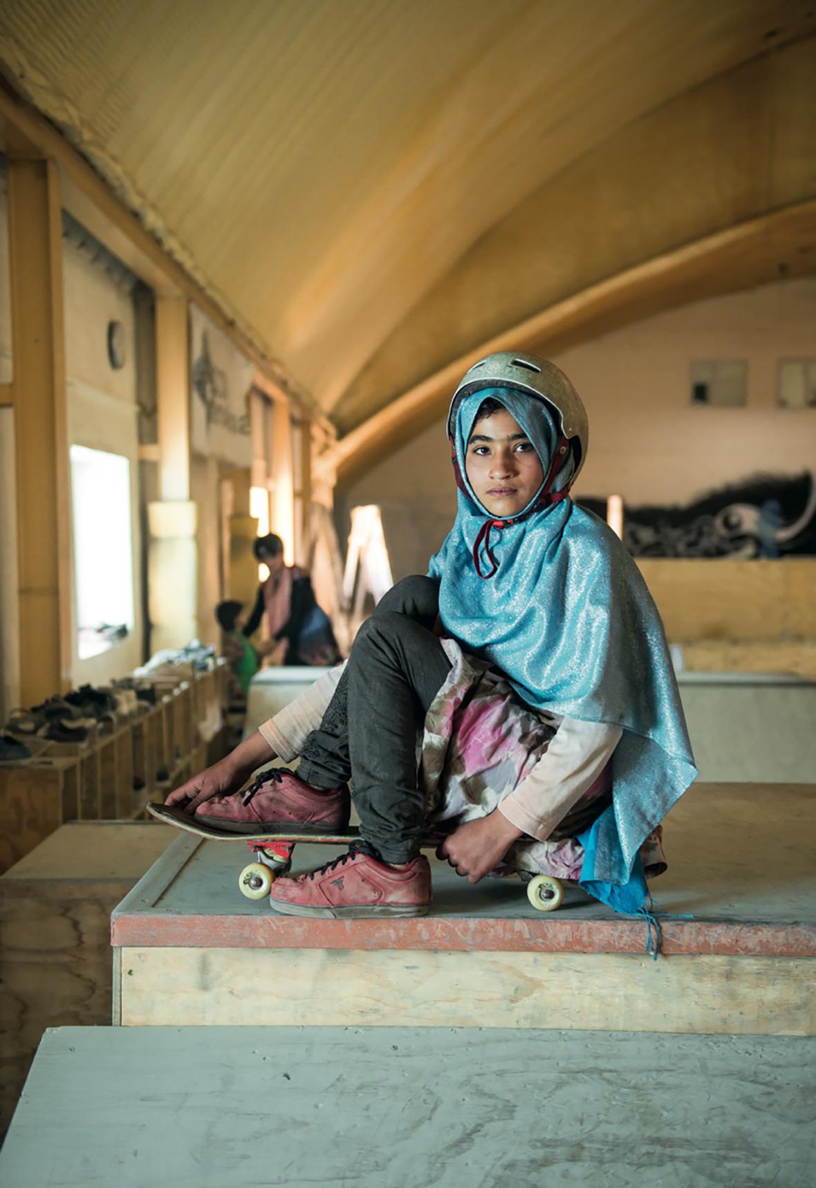 The Skate Girls of Kabul