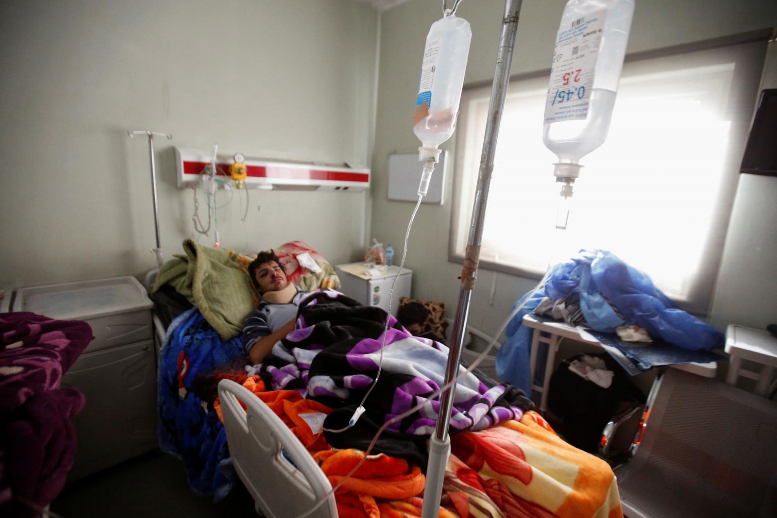 Hospital west of Erbil