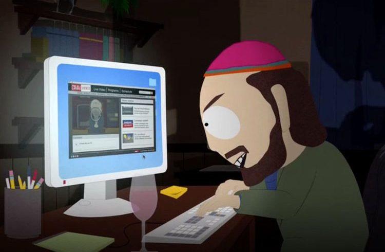 Skankhunt42 on South Park