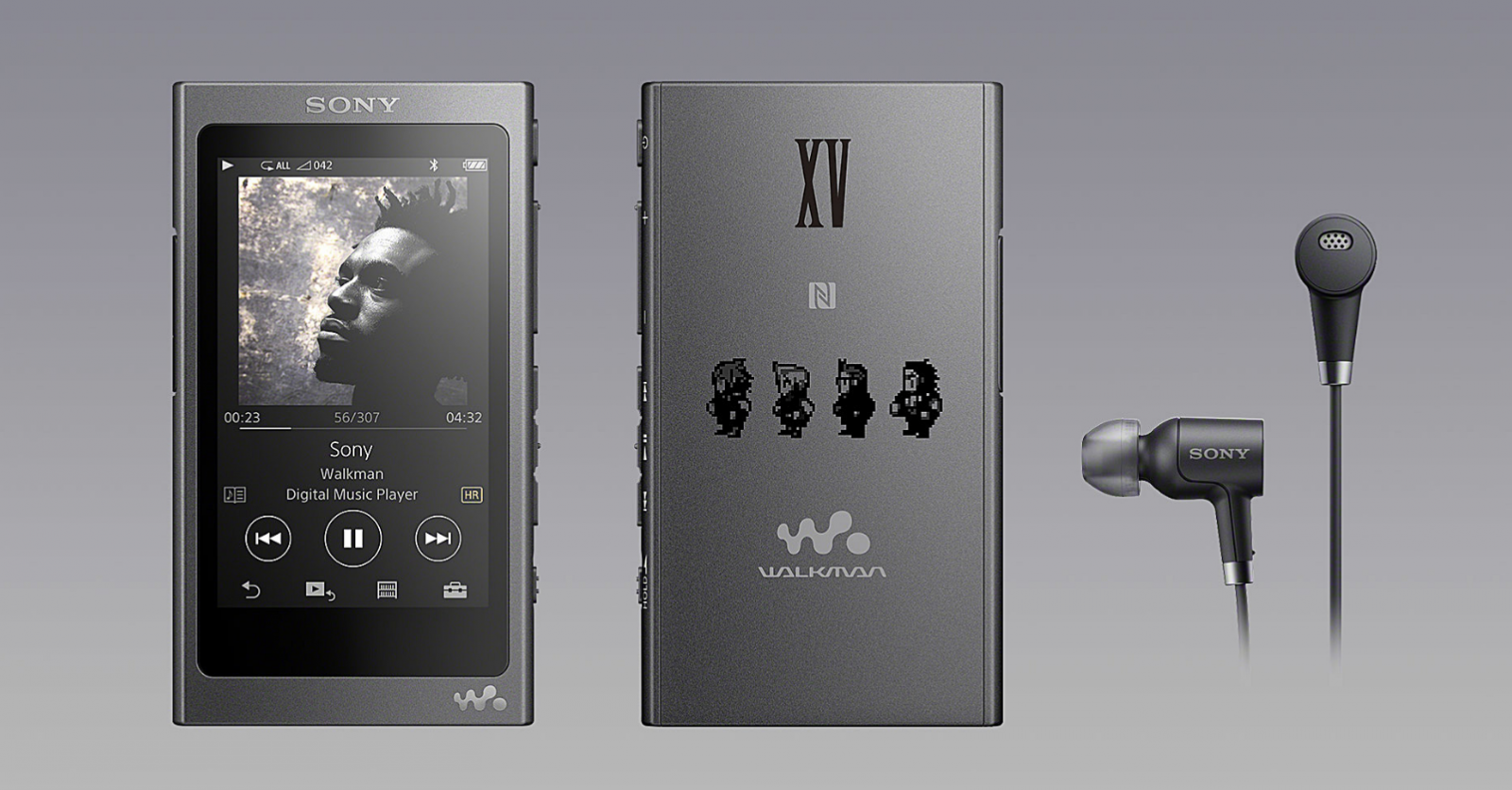 Final Fantasy 15 Sony Walkman