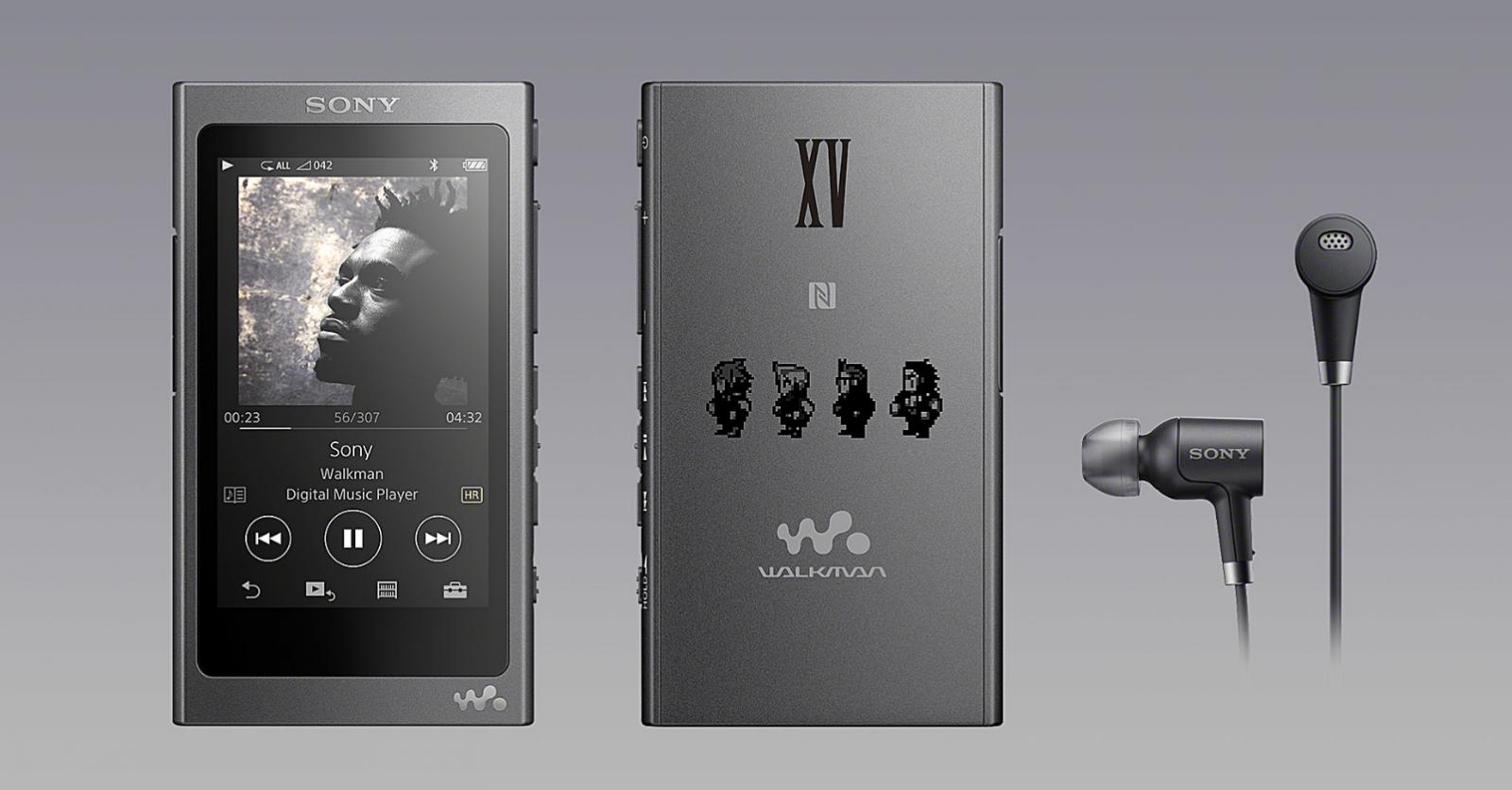 Final Fantasy 15 Sony Walkman