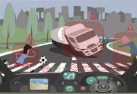 Moral Machine MIT autonomous car crash game