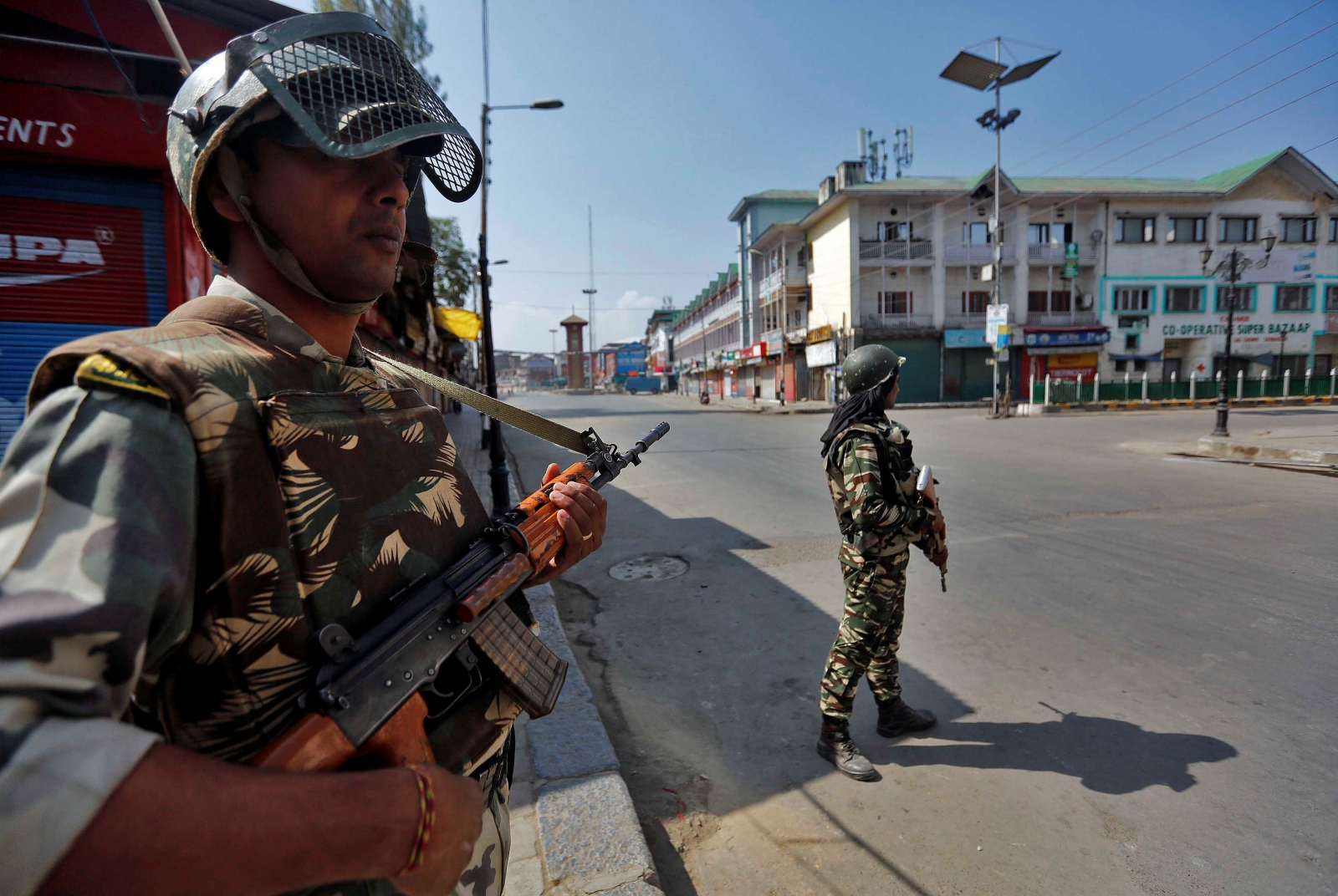 India army base attack