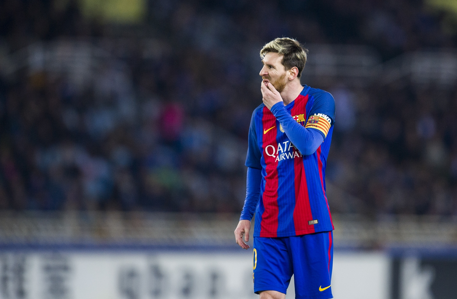 Barca fall six points behind Real Madrid after draw at Real Sociedad