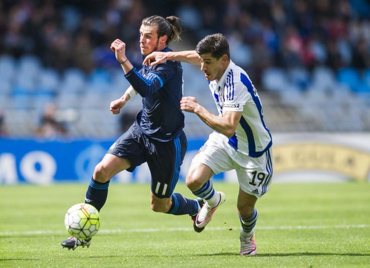 Yuri Berchiche and Gareth Bale