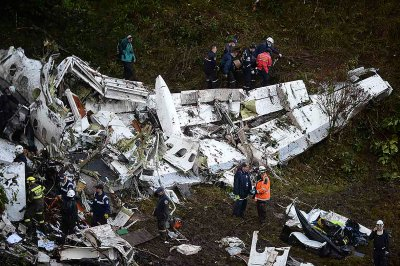 Colombia plane crash