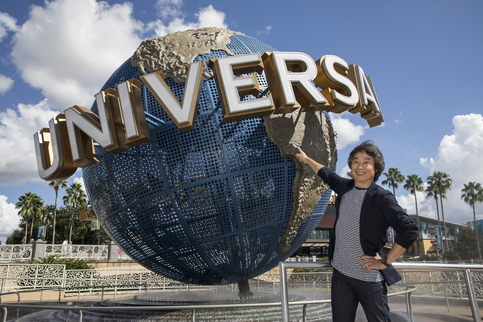 Shigeru Miyamoto Universal Studios