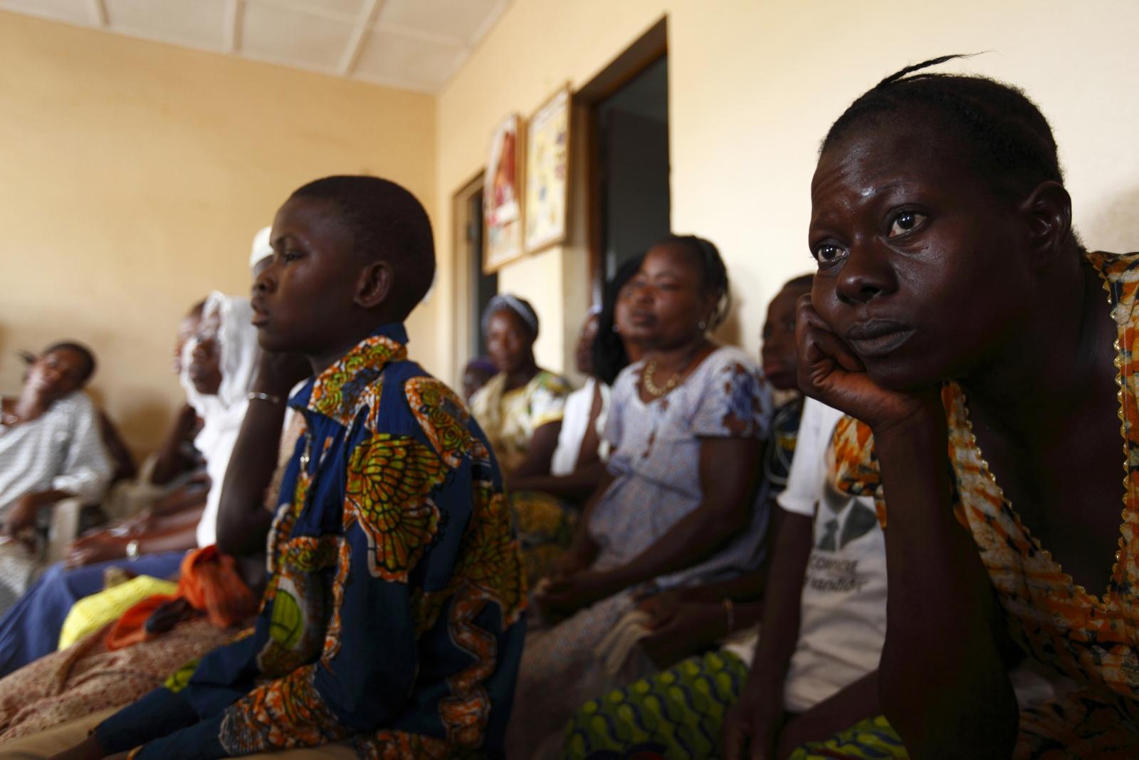 women Burkina Faso hiv