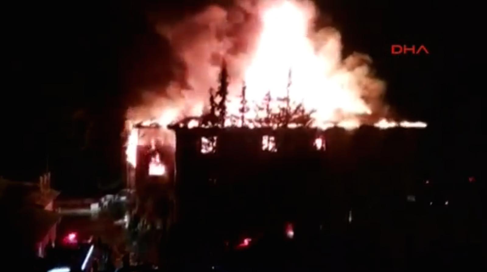 Adana fire