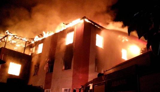 Fire in Turkey