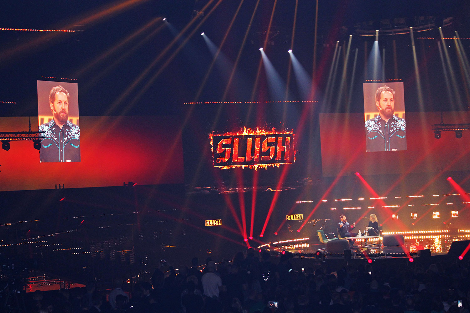 Venture investor Chris Sacca at Slush 2016