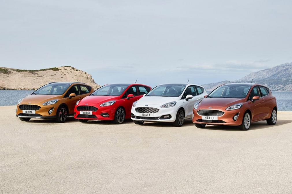 New Ford Fiesta range