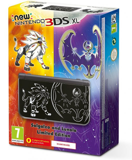 Nintendo 3DS XL Pokemon Sun Moon