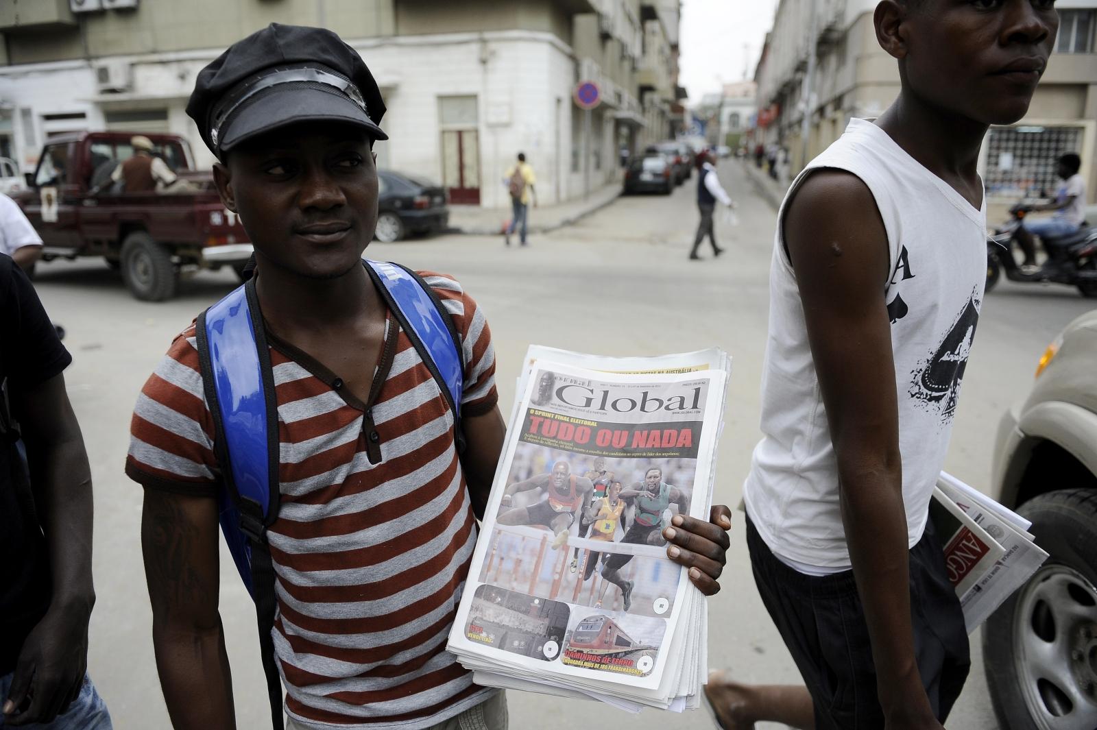 Angolan media freedom
